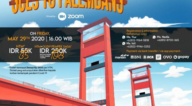 Yuk Ikut Kawisata Tur Virtual ke Palembang