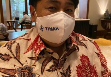 Masker Lukis Charlene Junus Dipakai Direktur Timah
