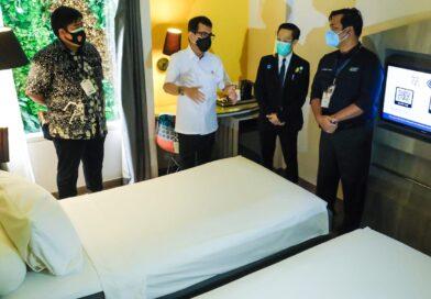 Kemenparekraf Pastikan Hotel untuk Isolasi Pasien Covid-19 Mulai Digunakan