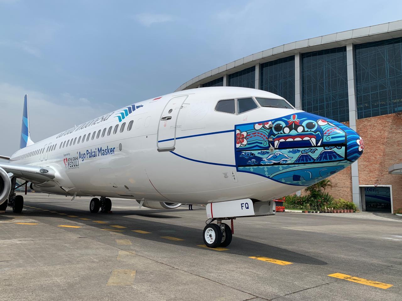 Garuda Indonesia Luncurkan Mask Livery Indonesia Pride ...