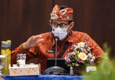 Menparekraf Sandiaga Bahas Pembukaan Bali